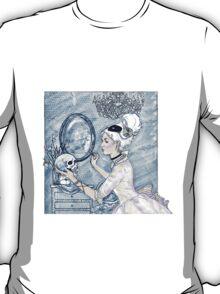 Marie Antoinette Halloween Blue T-Shirt