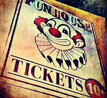 FunHouse Tickets by emotionalorphan
