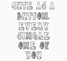 Cute As A Button by Cakeinatin