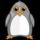 Grey Penguin 2 by Adamzworld