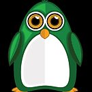 Green Penguin 2 by Adamzworld