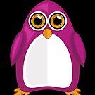 Violet Penguin 2 by Adamzworld