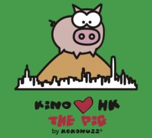 KINO loves Hong Kong - The Pig on the Peak by Kokonuzz