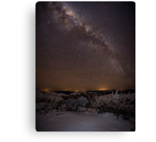 Mount Hotham Milky Pan Canvas Print
