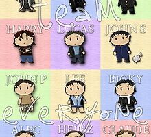 Team Everyone Richard Armitage Characters - With Text by sebabybaby