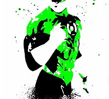 Green Lantern Hal  by justin13art