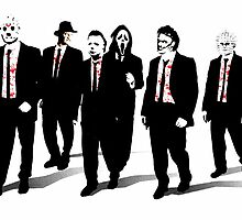 Resevoir Horror Dogs  by justin13art