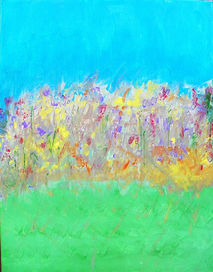 At the Edge of the Field by Lenore Senior