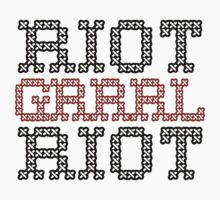 Riot Grrrrl Riot by Angry Squirrel Studio