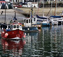 Harbour Shot  2013-08-14-    Lyme, Dorset UK by lynn carter