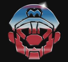 Mariobots... ROLL OUT! (metal version) by Barry V Evans