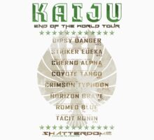 Kaiju End of the World Tour - Texture v1 by Adam Angold