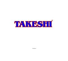 Takeshi Logo Ipad case by TakeshiUSA