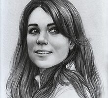 Kate Middleton by thedrawinghands