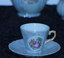 Miniture China Tea Set by karencadmanfoto