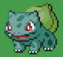 Bulbasaur Sprite by Flaaffy