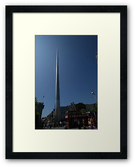 Spire of Dublin by Allen Lucas
