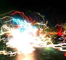 Idea + Light + Time = Art {C} (Light Painting 0003.14159...) by Keith Miller