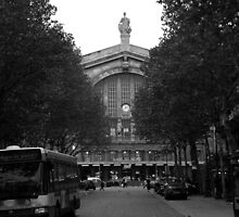 PARIS FRANCE, TRAIN STATION GARE DU NORD OCTOBER 2006 by photographized