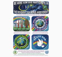 Seeds for Peace Poster & T-Shirt by EarthRepair