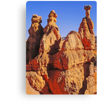 Hoodoo These Remind You Of? - Bryce Canyon, Utah, USA Canvas Print