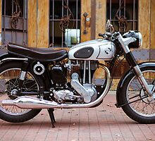 Norton 19S Vintage English Motorcycle by jamjarphotos