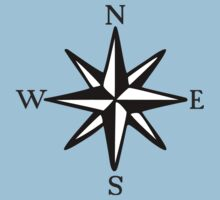Compass Rose NOSW (two-color) by theshirtshops