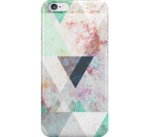 Graphic 3 turquoise iPhone Case/Skin