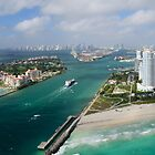 Bird's Eye View of Miami by Kasia-D