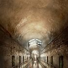 Jail - Eastern State Penitentiary - End of a jouney by Mike  Savad