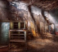 Jail - Eastern State Penitentiary - Sick Bay by Mike  Savad