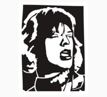 Mick Jagger by 53V3NH