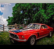 Mach 1 Ford Mustang Traveled from 1969 to the World of Tomorrow by ChasSinklier