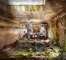 Jail - Eastern State Penitentiary - The mess hall  by Mike  Savad