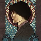 11th Doctor art nouveau , Doctor Who , TARDIS by koroa