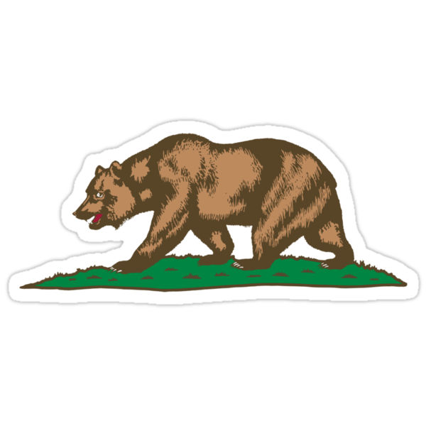 California Bear by kwg2200