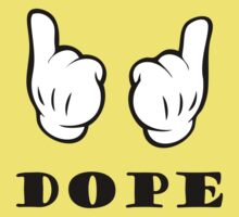 Dope T-Shirts & Hoodies by incetelso