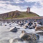 Dunstanburgh Castle Boulders by Chris Frost Photography