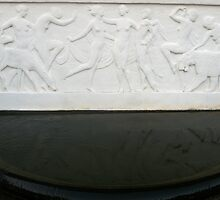 Art Deco 1924 Bas Relief sculpture by Julie Van Tosh Photography