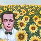 Peter and Sunflowers by juliealberti