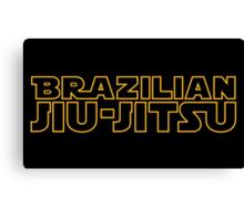 Brazilian Jiu-Jitsu Canvas Print