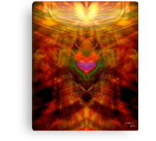 ... From the womb of a tree  , Love and life is born .... Canvas Print