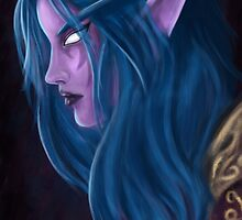 Night Elf by miriamuk