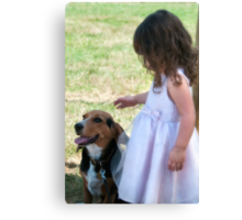 And They Call It Puppy Love Canvas Print