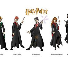 Harry Potter Project by Chawlie