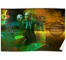 holographic universe Poster