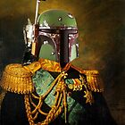 Portrait of Boba Fett by KAMonkey