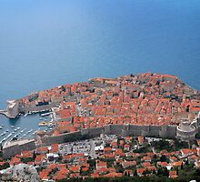 Dubrovnik, city of red roofs by MigBardsley