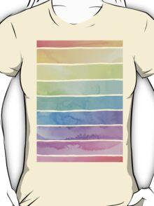 Summer Sorbet Rainbow Stripes T-Shirt