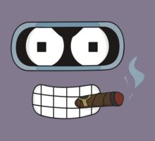 BENDER FACE - FUTURAMA by melezz